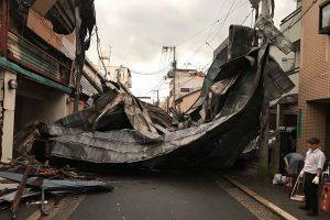 関西を直撃 台風21号